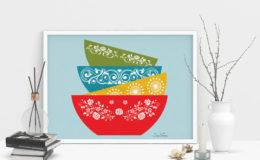 bowls-art-framed-scene